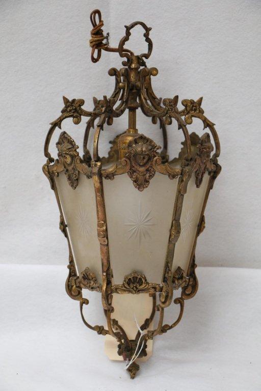 Early 20th century ornate lighting