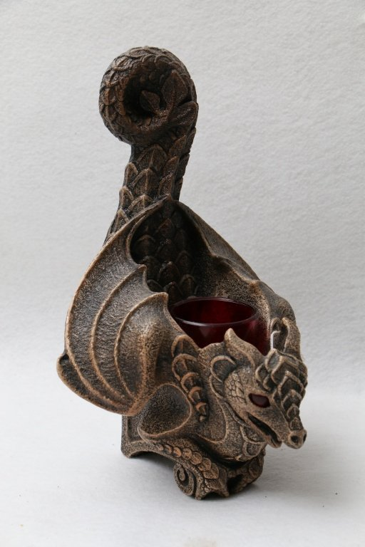 4 Windstone Editions Dragon candle holders - 2