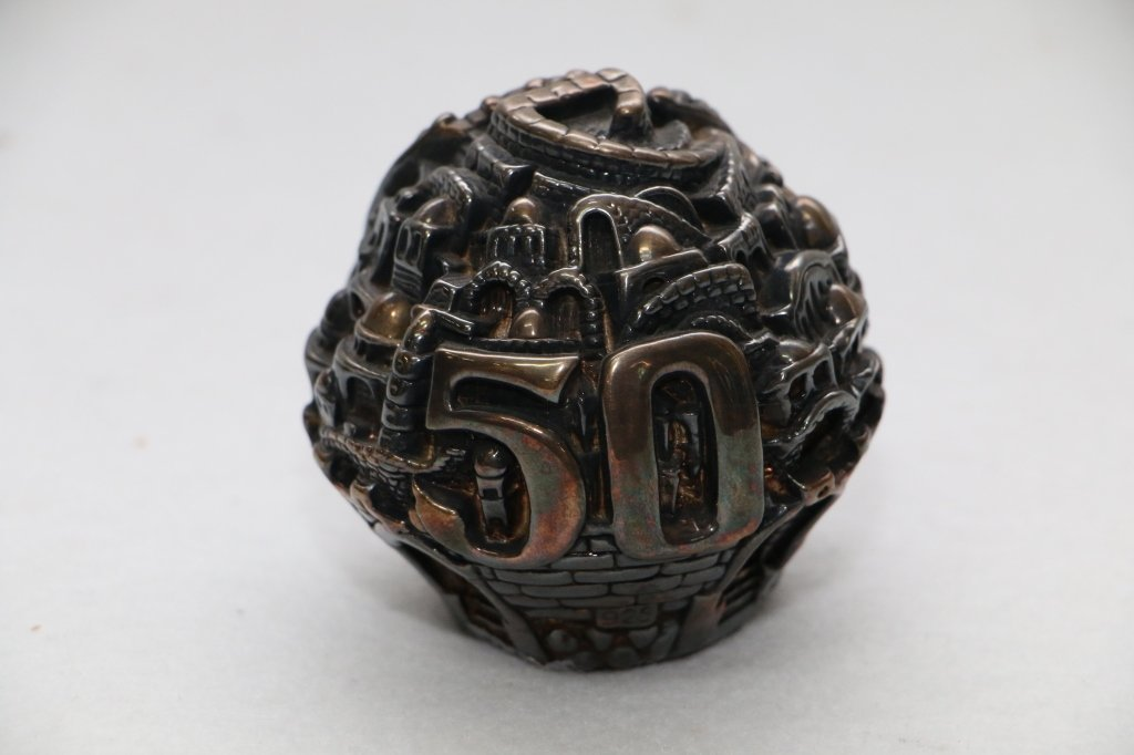 A Silver Judaica Paperweight