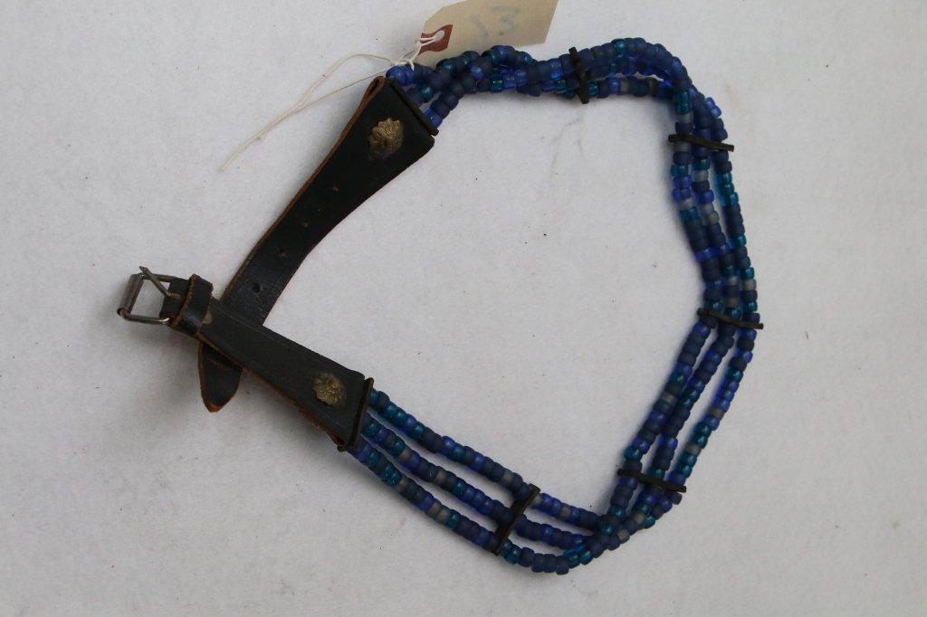 "Native American Beaded Belt, Appx. 34"""