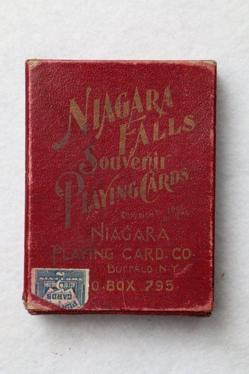 "Antique Playing Cards, ""Niagara Falls"""