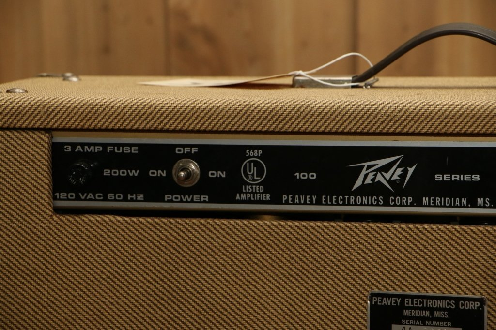 Vintage Peavey  Classic Combo 100 Series Tweed - 5