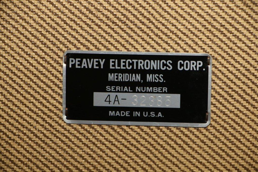 Vintage Peavey  Classic Combo 100 Series Tweed - 7