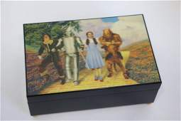 Wizard of Oz Collectors Plates  Jewelry Box