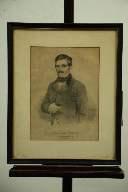 Print, 19th C. Boxing.  William Poole.