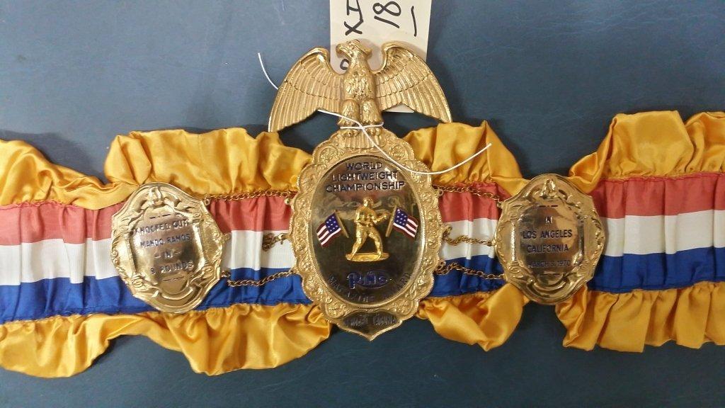 Ring Magazine Championship Belt Ismael Laguna - 2