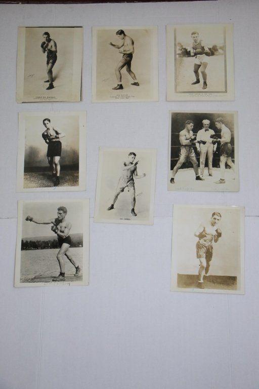 Group of B&W Photos Jewish / Hebrew Boxers