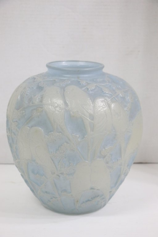A Phoenix & Consolidated Lovebirds Vase