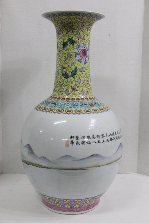 A Large sized antique (?) Chinese vase