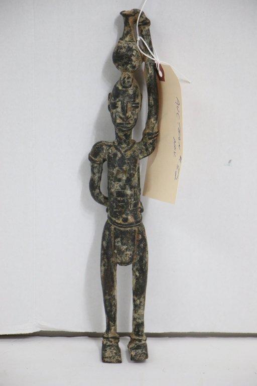 An antique (?)  African bronze figure