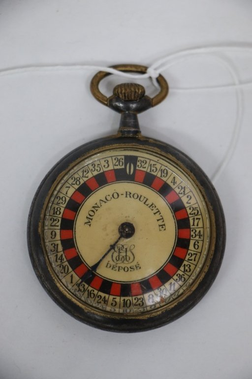 "An antique ""Monaco Roulette"" pocketwatch game"