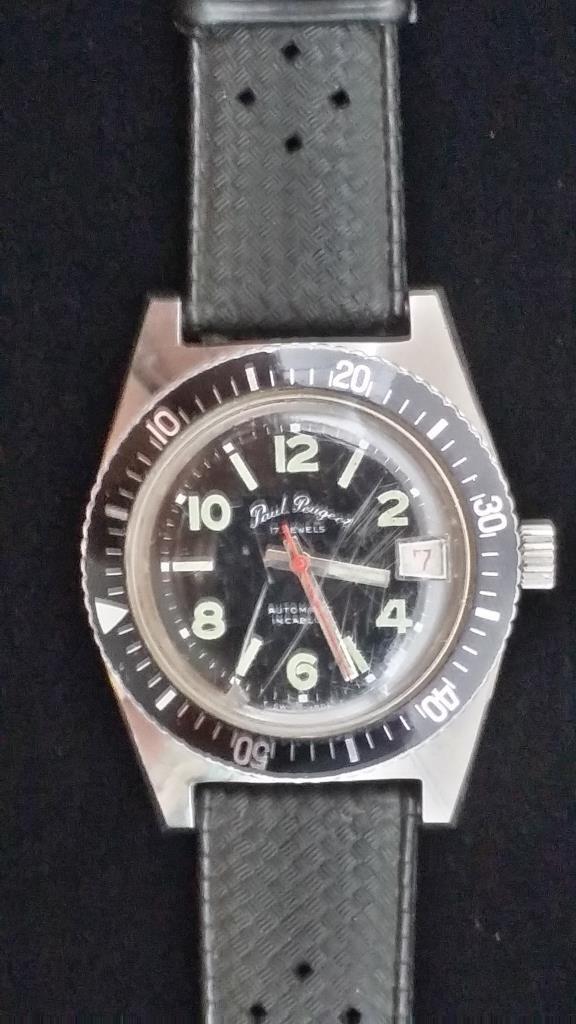 A Gent's Paul Peugeot Wrist Watch