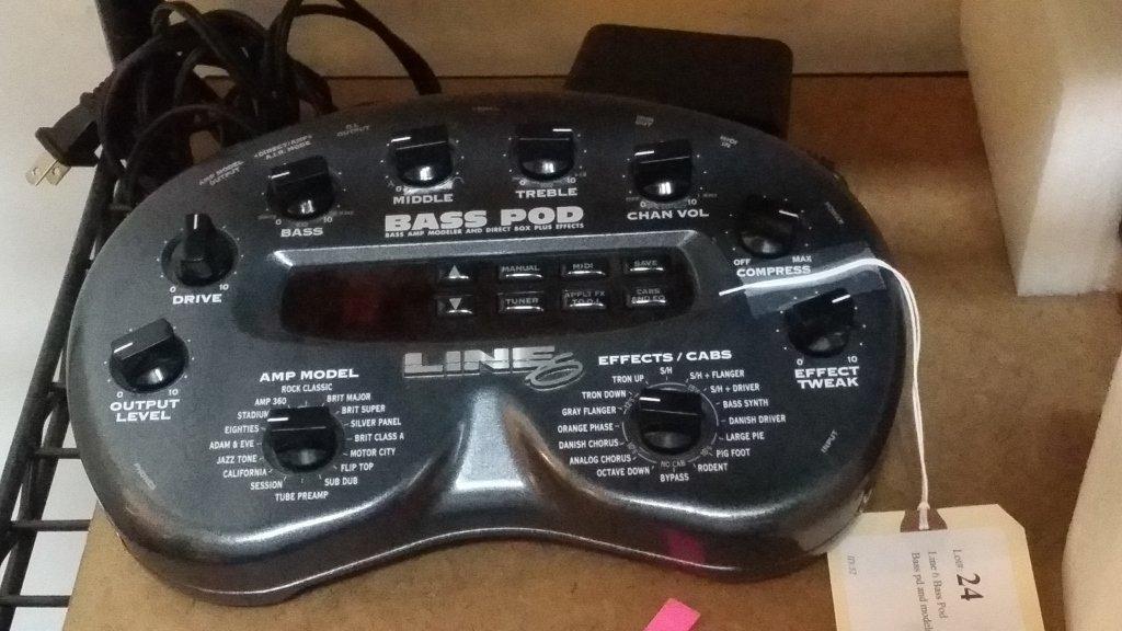 Line 6 Bass Pod