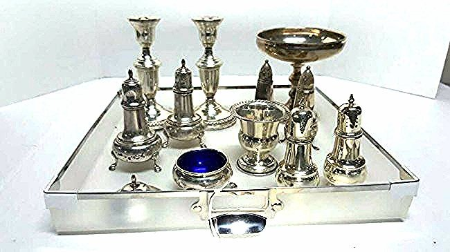 Fine Sterling Silver Assortment ( 11 piece )