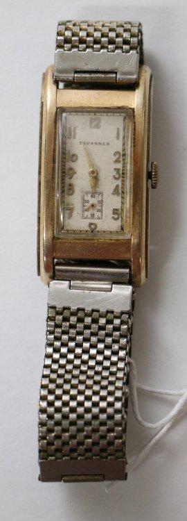 A Gents Tavannes Wrist Watch.