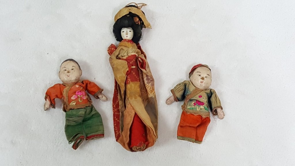 Early Hand Made Chinese Dolls