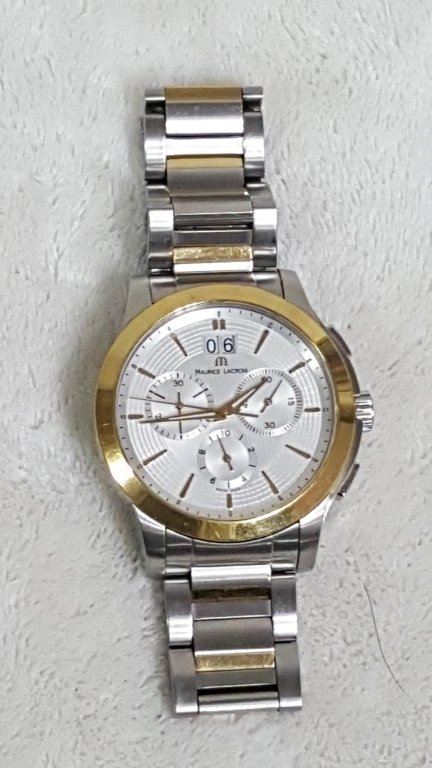 Maurice Lacroix Stainless & Gold Tone
