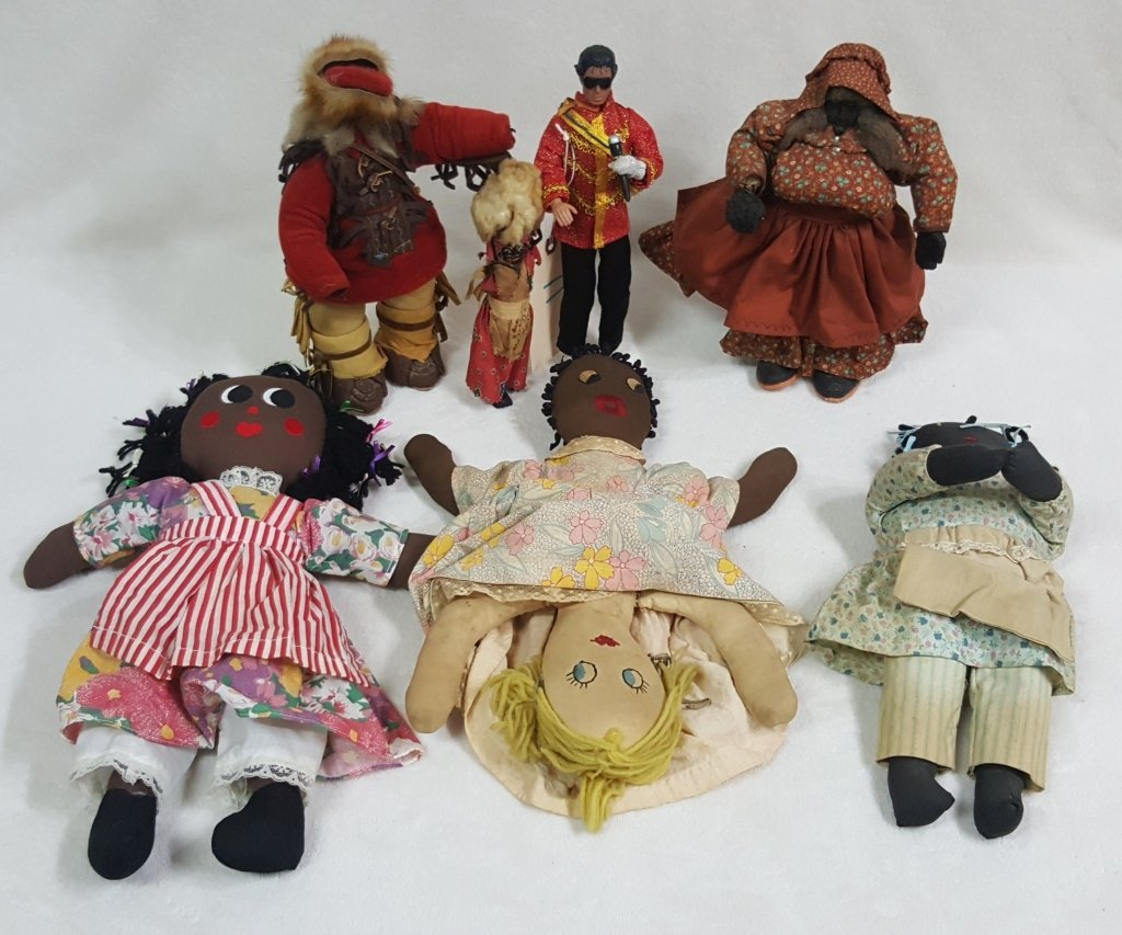 Black Americana Doll Collection
