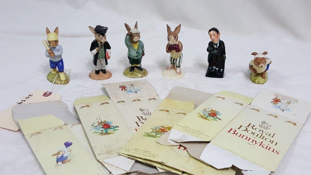 Royal Doulton Bunnykins Collection & Stiggins