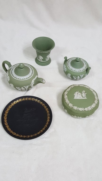 Wedgwood Green Jasperware Collection