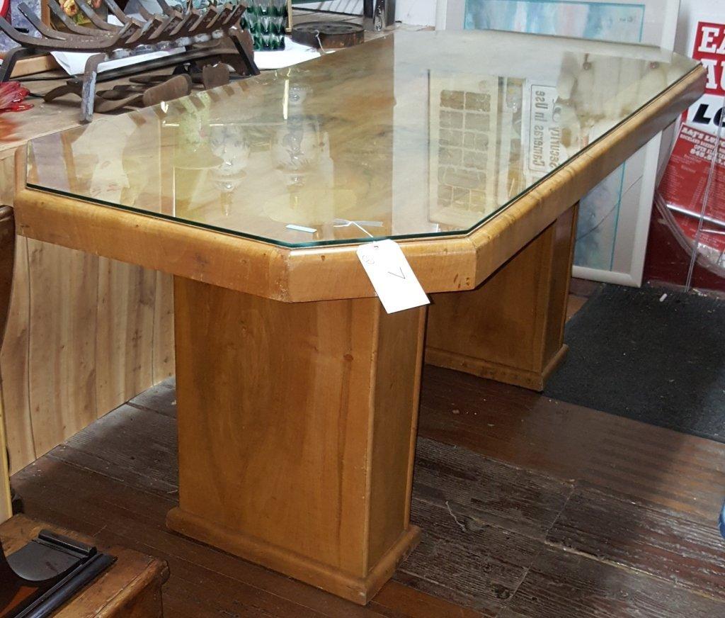 Antique Art Deco kitchen table