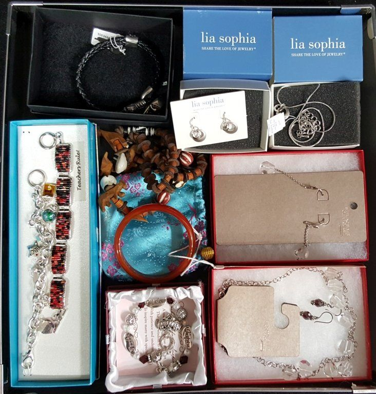 Silver, Jade, Wooden, & Other Costume Jewelry