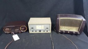 Vintage Radio Collection; Zenith, Phillips, &..