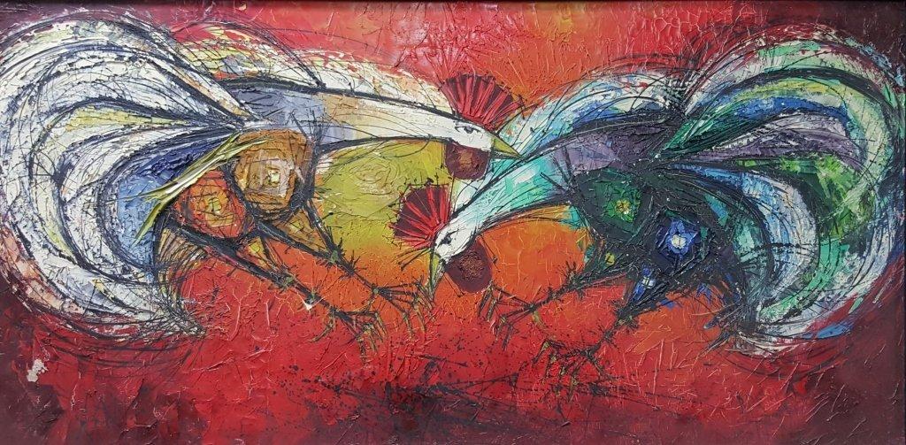 Bruno Stern Oil on Canvas.
