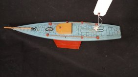 Golden Falcon Vintage Sail Boat Toy