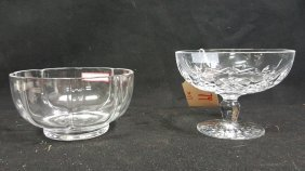 Tiffany & Co. And Waterford Bowl