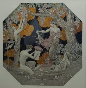 """Signed & Numbered Litho; """"fragrance Of The Woods"""""""