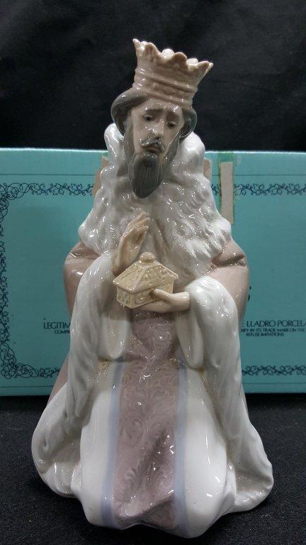 Lladro Large Nativity King Gaspar Wiseman #5480