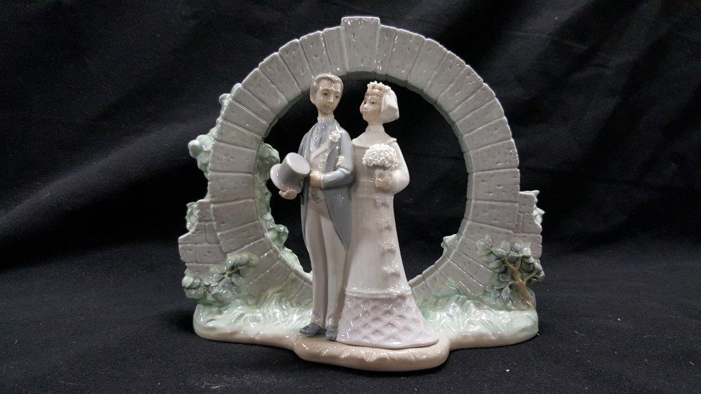 Lladro Wedding Collection, #7503 & #4808