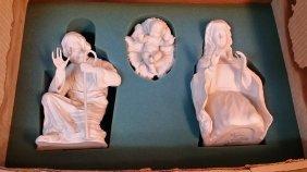 Boehm Porcelain Nativity Set In The Box