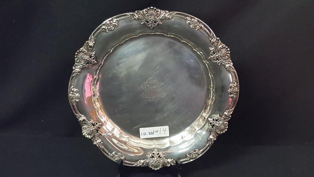 Gorham Sterling Silver Service Platter