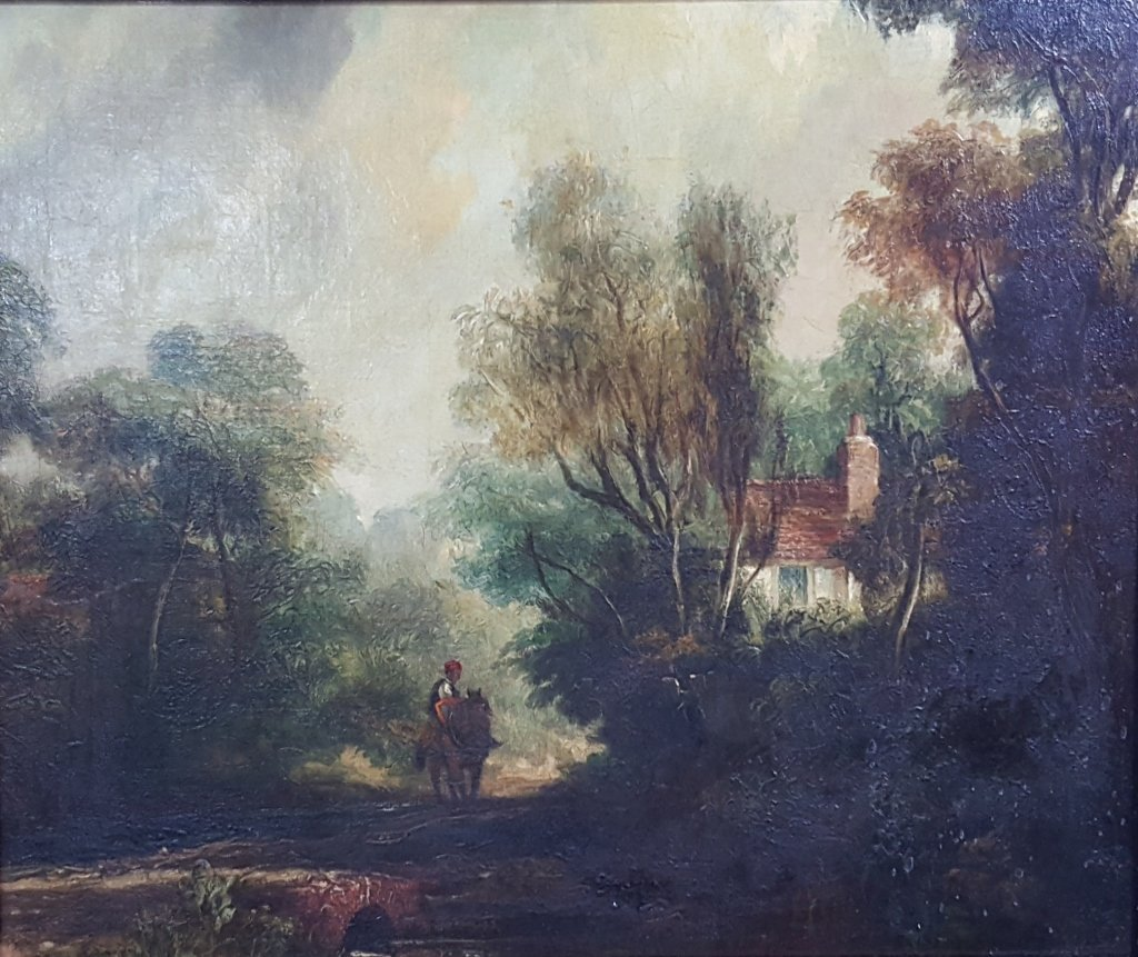 John Constable, R.A. (1776-1837) Oil on Board
