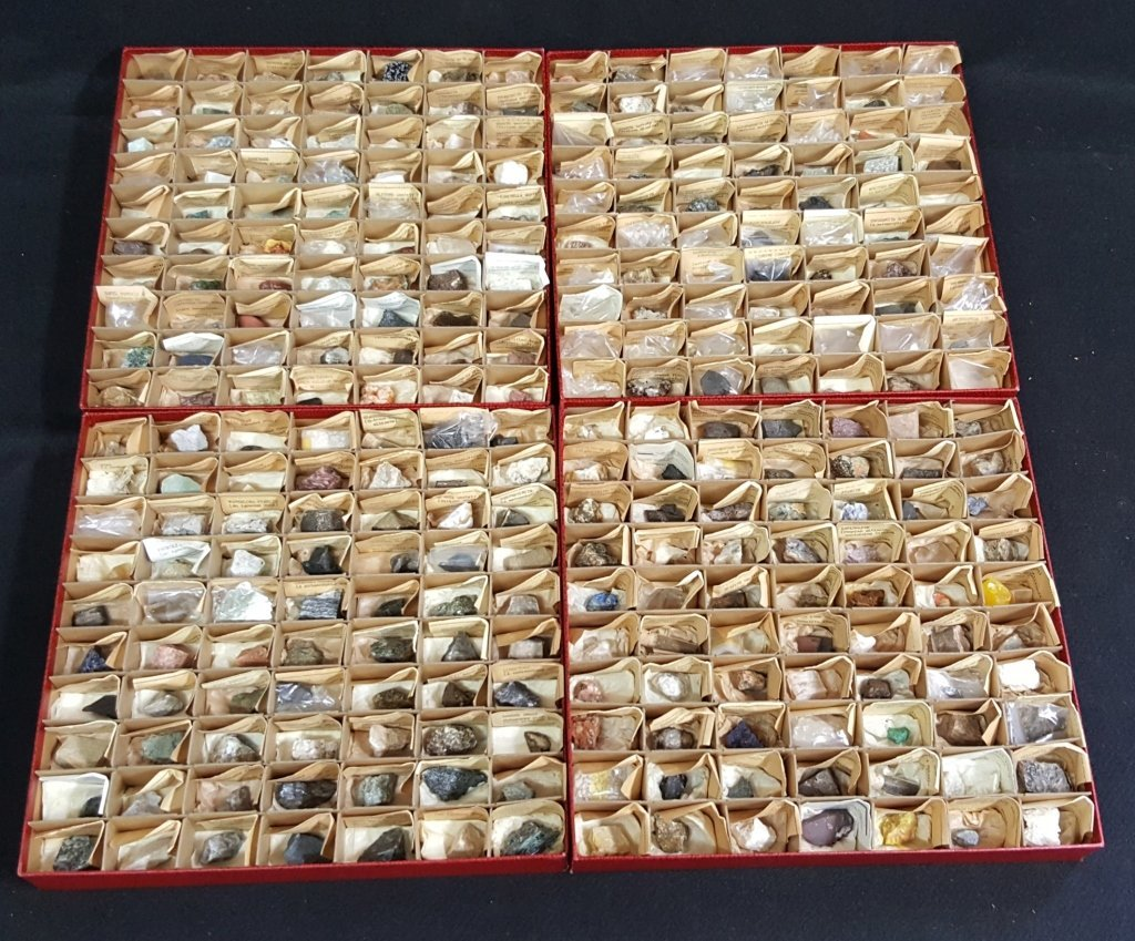 Large Collection of 280 Rocks and Minerals
