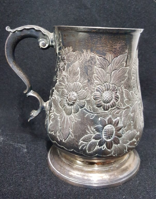 Charles Wright C. 1815 Sterling Silver cup