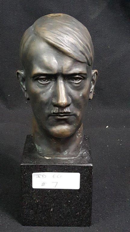 WWII German Adolph Hitler Bronze Bush H. Retzbach