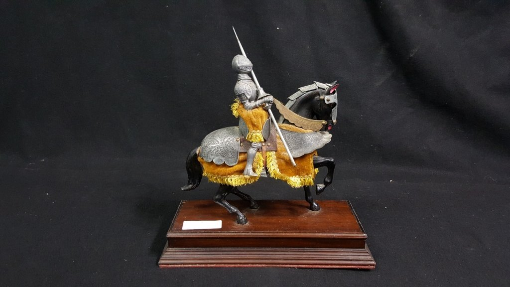 Mounted Spanish Knight of the 16th Century