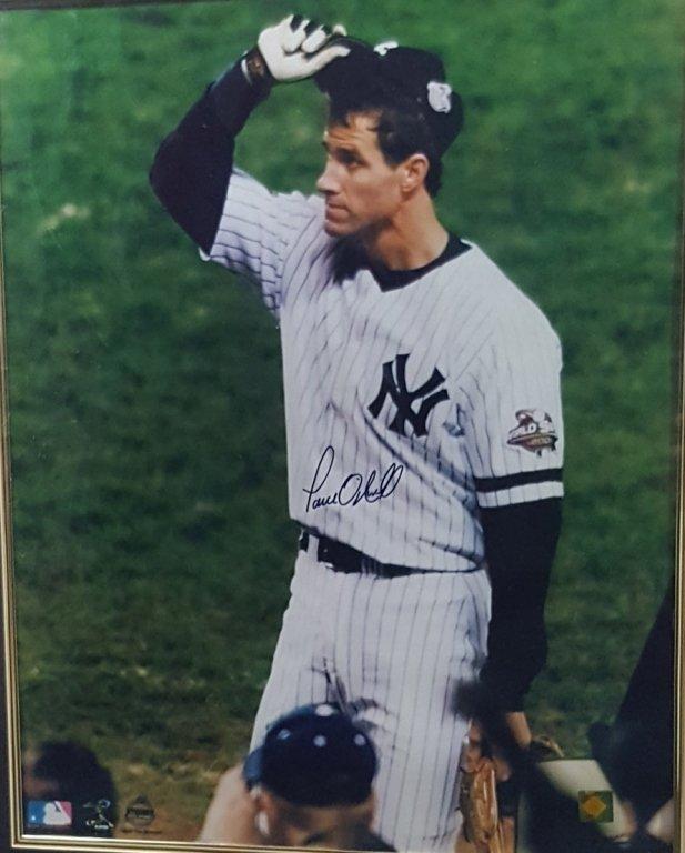 NY Yankees Paul O'neill Autograph & NYY Frame