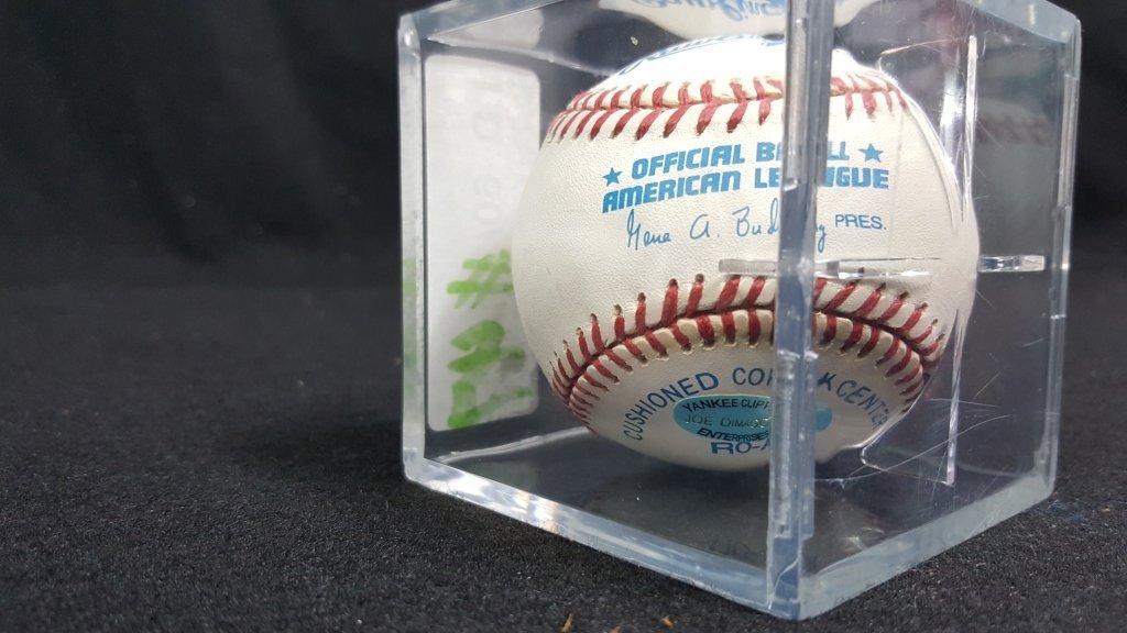 NY Yankees Joe Dimaggio; W/ JD Enterprises Sticker - 2