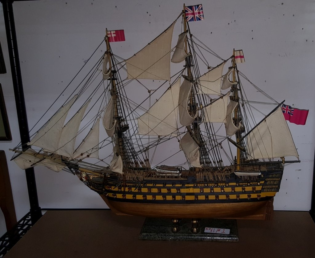 Model of HMS VICTORY, British Naval Ship