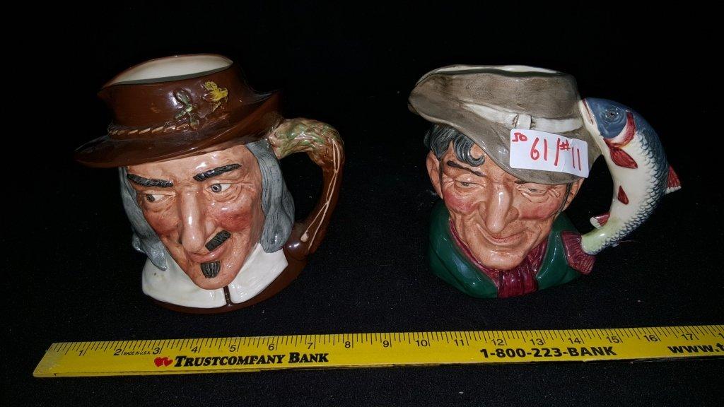 Large Royal Doulton Toby Mug Character Mugs
