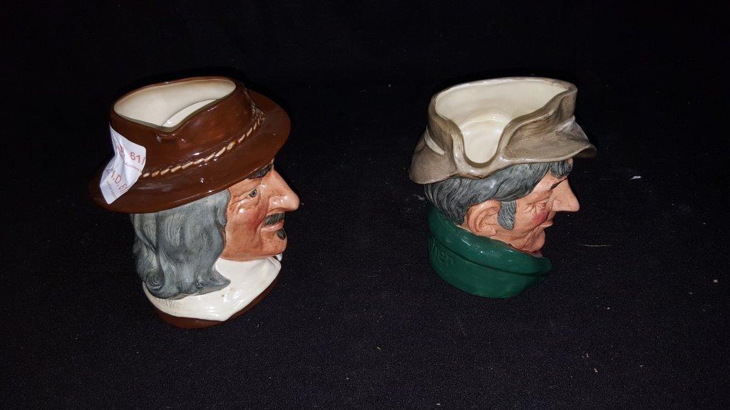 Large Royal Doulton Toby Mug Character Mugs - 2