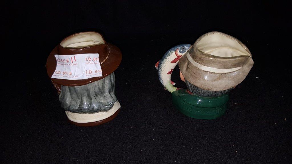 Large Royal Doulton Toby Mug Character Mugs - 3