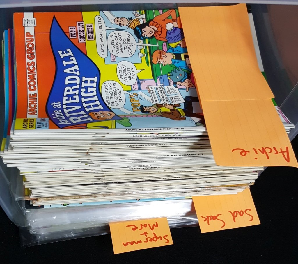 Large Comic Book Collectoin; Archie, Sad Sack, & .
