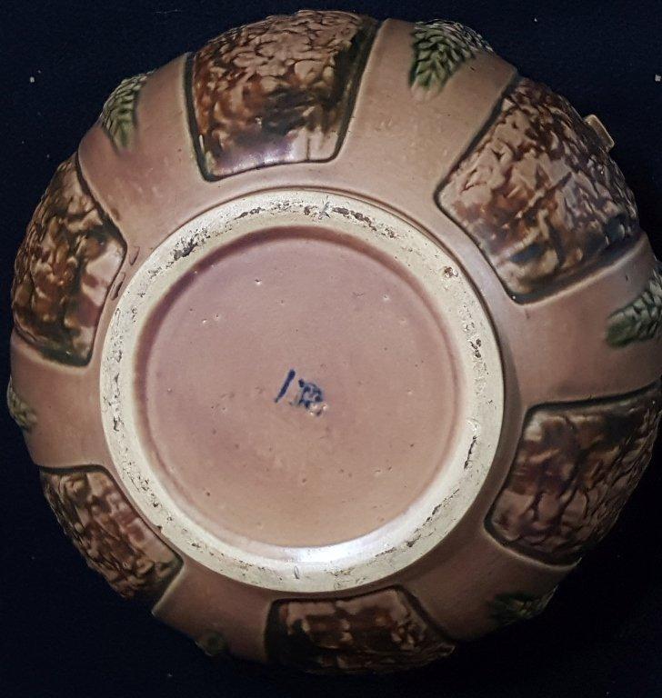 Handled Roseville Pottery Urn - 2