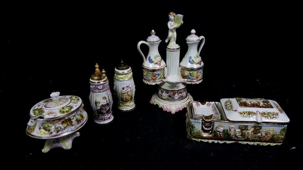 Capodimonte 5 piece set