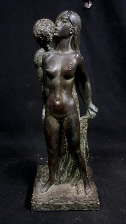 "1967 Leonardo Art Works ""Nude Lovers"" Sculpture"